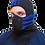 Thumbnail: Тепловая маска БАЛАКЛАВА LUXE 3В1 TM.1.4 SPORT-BLUE