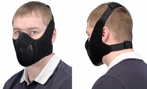 Защитная маска для байкеров Полумаска с 2-мя креплениями АМ.2.1