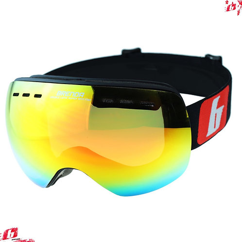 Горнолыжные очки BRENDA RODEZ mblack-red revo