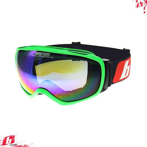 Горнолыжные очки BRENDA HOORN green-blue revo OTG