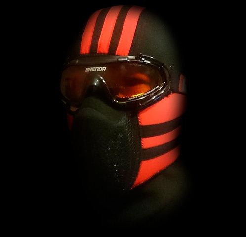 Тепловая маска БАЛАКЛАВА LUXE 3В1 TM.1.4 SPORT-RED