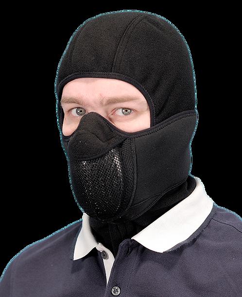 Тепловая маска БАЛАКЛАВА LUXE 3В1 ТМ.1.4 ЧЕРНАЯ