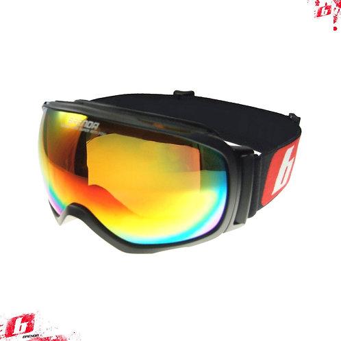 Горнолыжные очки BRENDA HOORN mblack-red revo