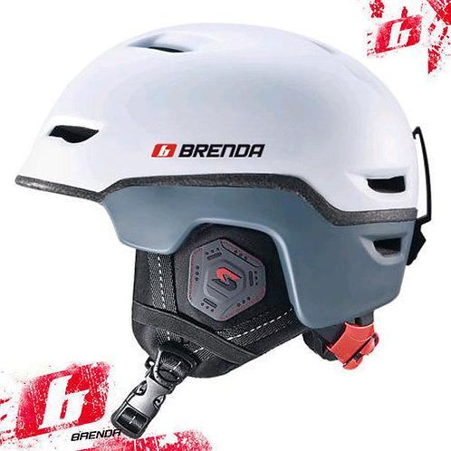 Шлем спортивный BRENDA BENT matt white (58-62 р-р)