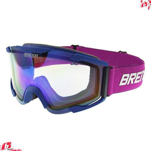 Горнолыжные очки BRENDA ELVAS mblue-blue clear