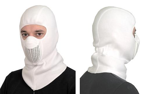 Тепловая маска БАЛАКЛАВА Белая арт.ТМ.1.1.FW