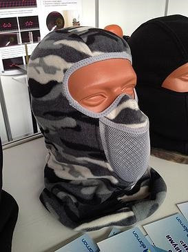 Тепловая маска Балаклава зимний камуфл. TM.1.1.FWK