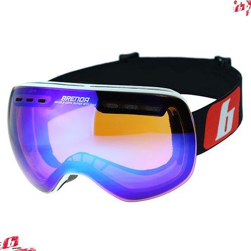 Горнолыжные очки BRENDA RODEZ mwhite-blue revo