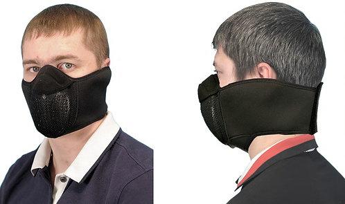 Защитная маска для байкеров Полумаска с широким креплением АМ.2.3