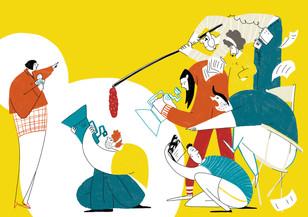 Editorial Illustration | Liberal Magazine