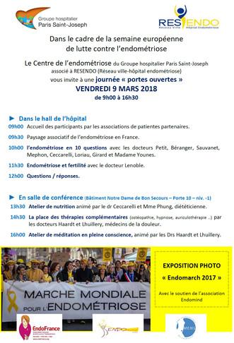 """Journée """"Portes Ouvertes"""" Vendredi 9 mars 2018"""