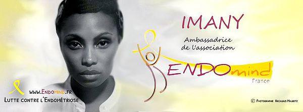 Imany - Ambassadrice Endomind