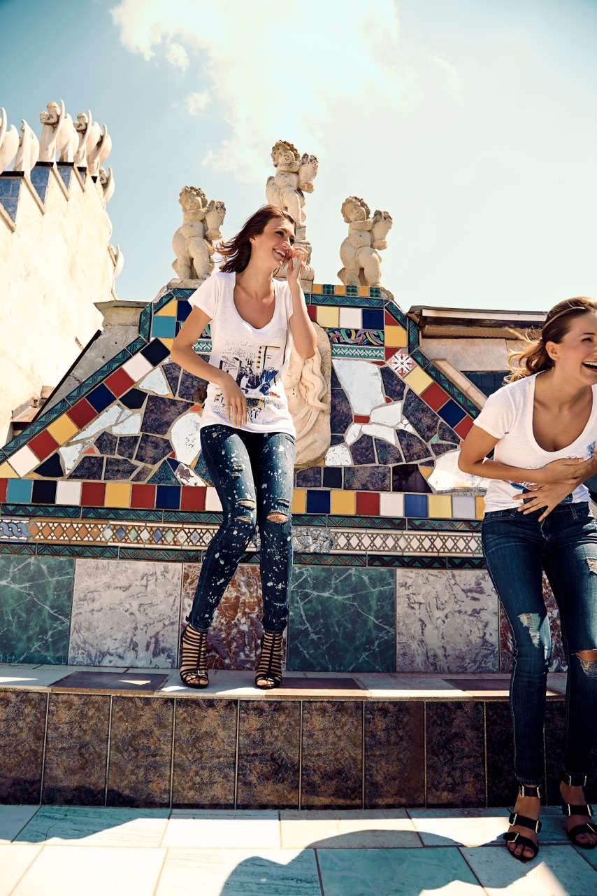 Campaign shooting italy