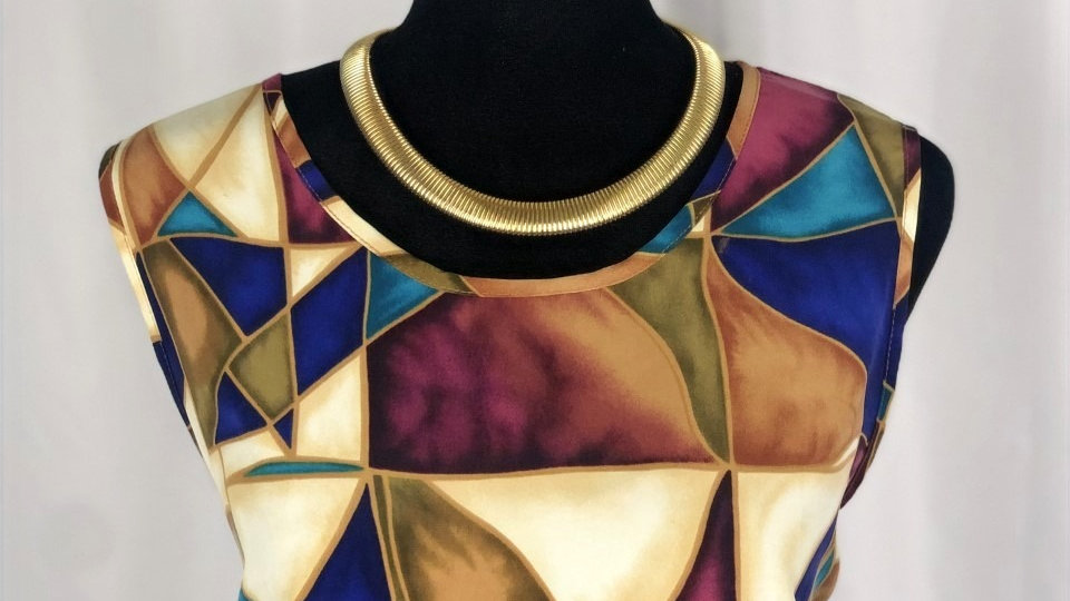 Maggie Sweet Abstract Top