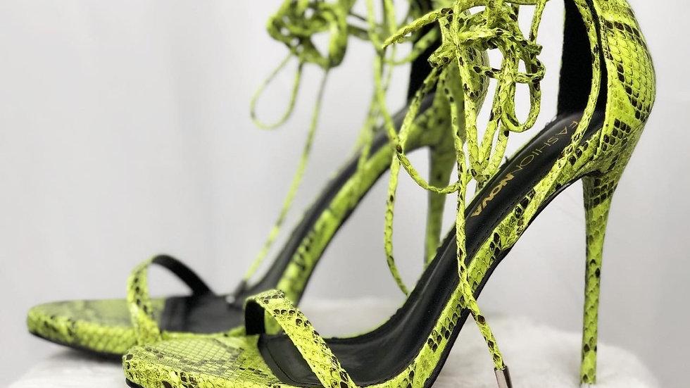 Fashion Nova Laced Heels