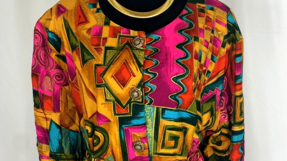 Vintage Aztec Top