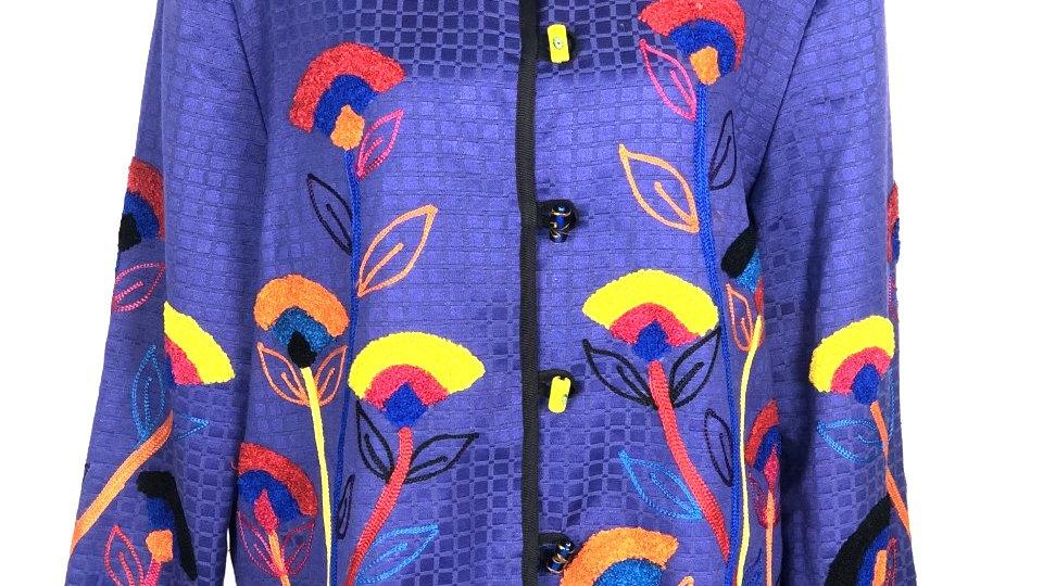 Knitted Blazer Jacket