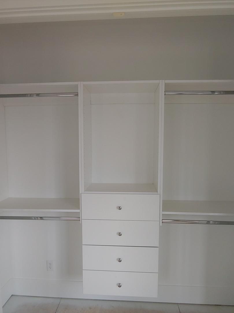 Sharing modular closet