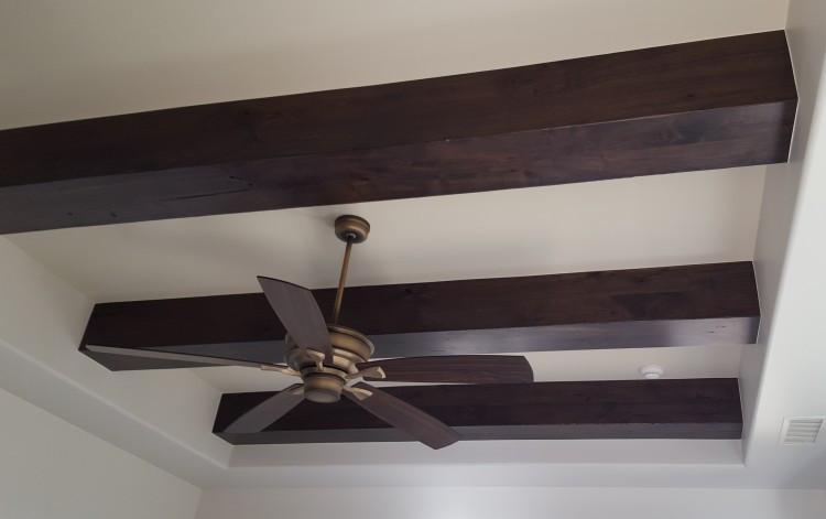 faux beams