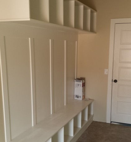 Customized Mudroom/Bench