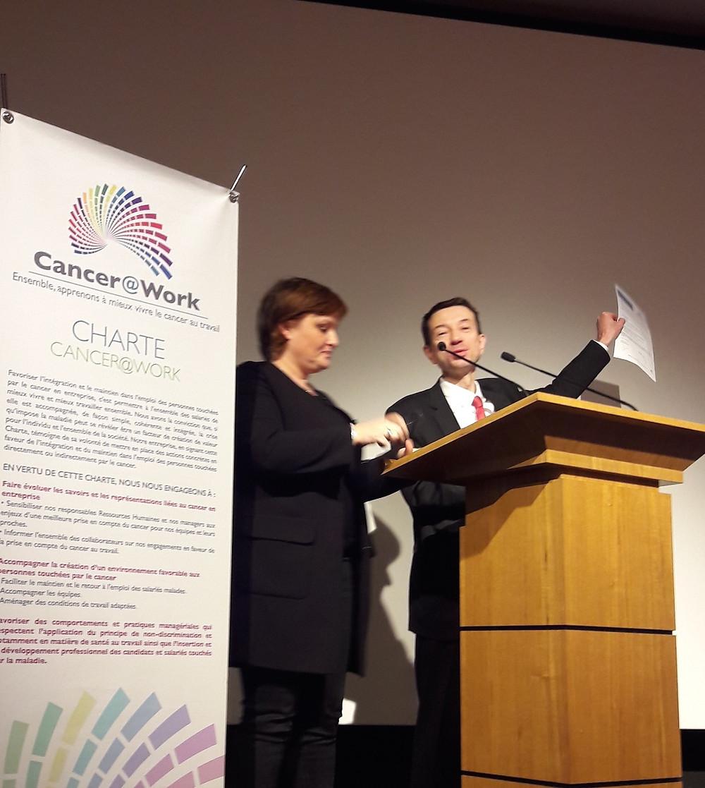 EULER HERMES signe la charte Cancer@Work et s'engage sur le sujet Cancer et travail