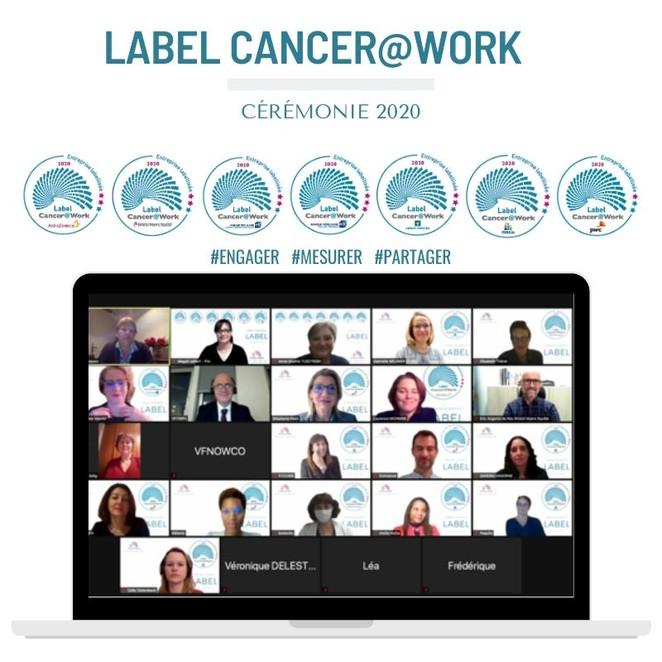 Remise des labels Cancer@Work : fierté, confiance, reconnaissance, les maîtres mots de la cérémonie.