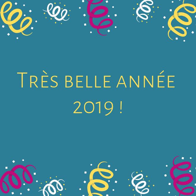 Cancer@Work vous souhaite une très belle année 2019 !