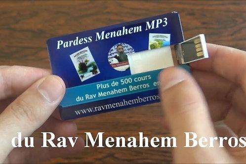 Pardess Menahem MP3 + de 500 h de Thora en audio