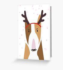REINDEER BULLY CHRISTMAS CARD