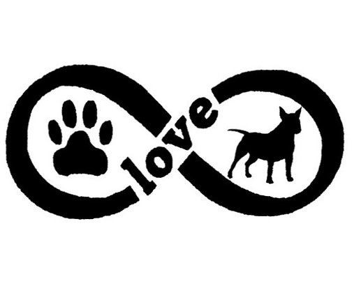Paw & Bully Love Sticker