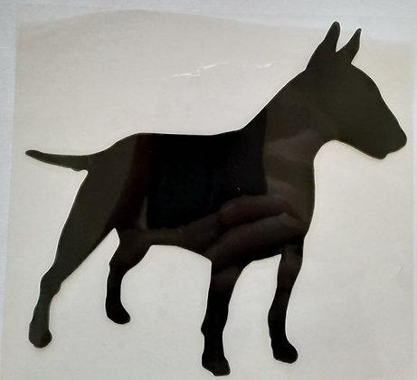 Bull Terrier Silhouette Car Sticker
