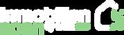 Logo immobilienscan by blackbird designagentur