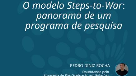 Conheça o modelo ''Steps-to-War''