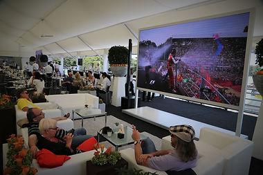 Club hospitality tennis Internazionale