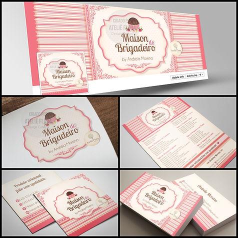 Criação de logomarca para Brigadeiria Gourmet