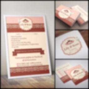 Criação de Logotipo para Confeitaria. Cartão de Visitas para Confeitaria. Banner para Confeitaria. Identidade Visual para Confeitaria