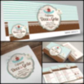 Criação de Logomarca para Cafeteria. Cartão de Visitas para Cafeteria. Panfleto para Cafeteria.
