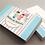 Criação de Logotipo infantil. Cartão de Visitas com tema infantil