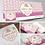 """Thumbnail: Combo com Logotipo + 3 itens: """"Esmalteria Floral"""""""