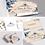 """Thumbnail: Combo com Logotipo + 3 itens: """"Floral Aquarela"""""""