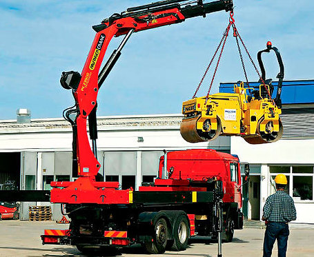 Licence to Operate a Vehicle loading Crane
