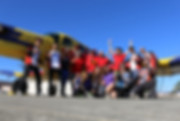 Cast and crew of Hollister Bay Area California Skydive Center