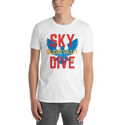 Skydive Silicon Valley Short-Sleeve Unisex T-Shirt