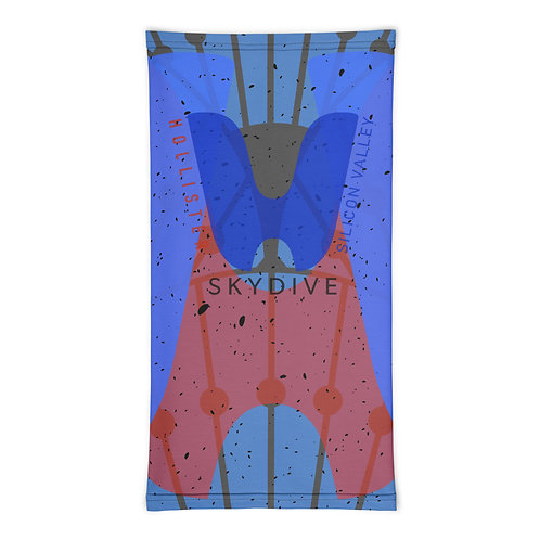 Neck Scruff Multifunction Headwrap - Skydive Hollister Silicon Valley