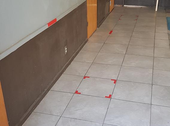Bathrooms Waiting Area