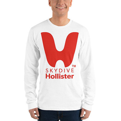 Skydive Hollister Unisex Long sleeve t-shirt