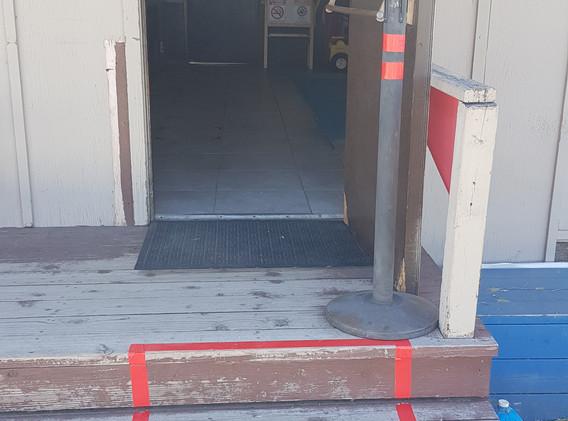 Bathrooms Entrance