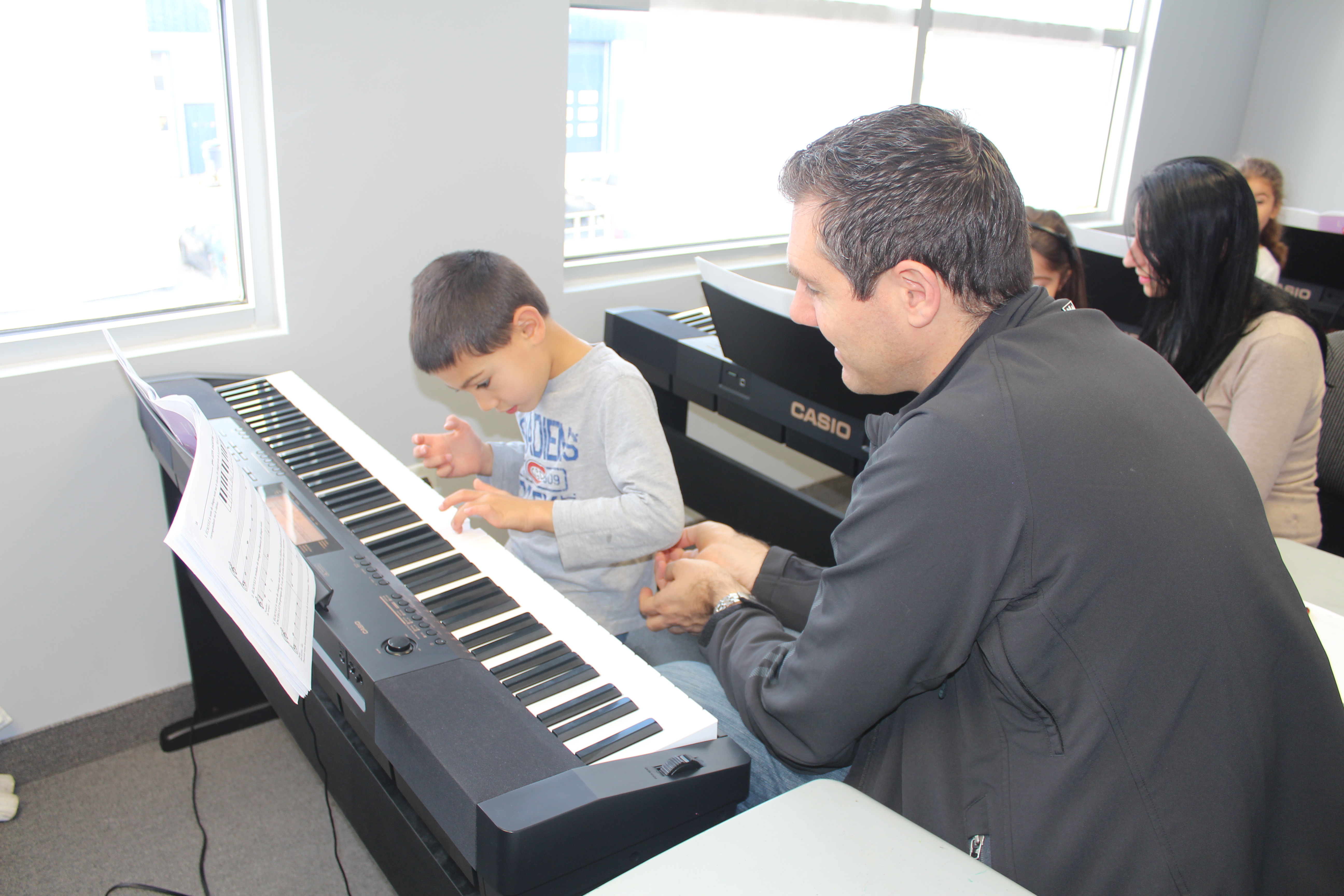 group piano w parent