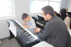 group piano w parent
