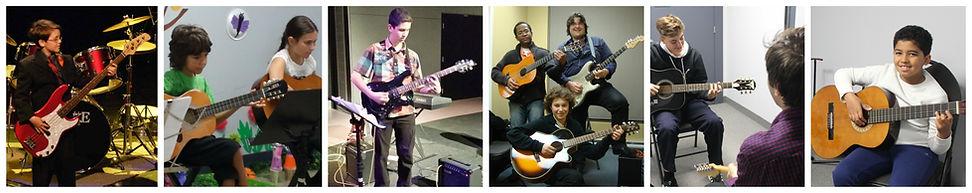 Cours de guitare Laval, Rive Nord